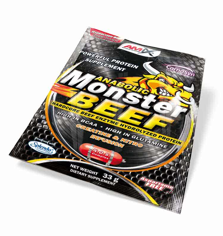 Amix Monster Beef Protein 33 gr.