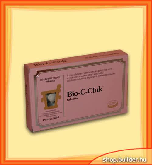 Pharma Nord Bio-C-Cink 30 tab.