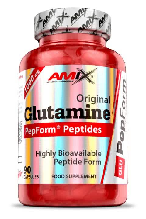 Amix PepForm Glutamine Peptides 90 kap.