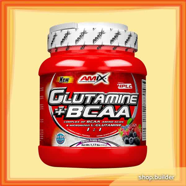 Amix L-Glutamine + BCAA 530 gr.