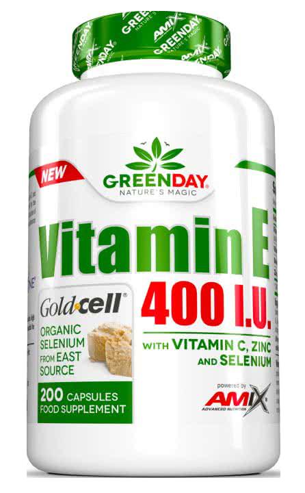 Amix GreenDay Vitamin E 400 I.U. LIFE+ 200 kap.
