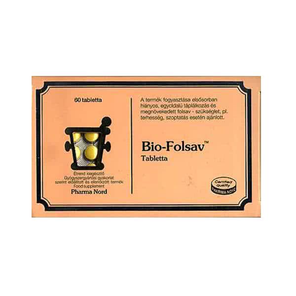 Pharma Nord Bio-Folsav 60 tab.