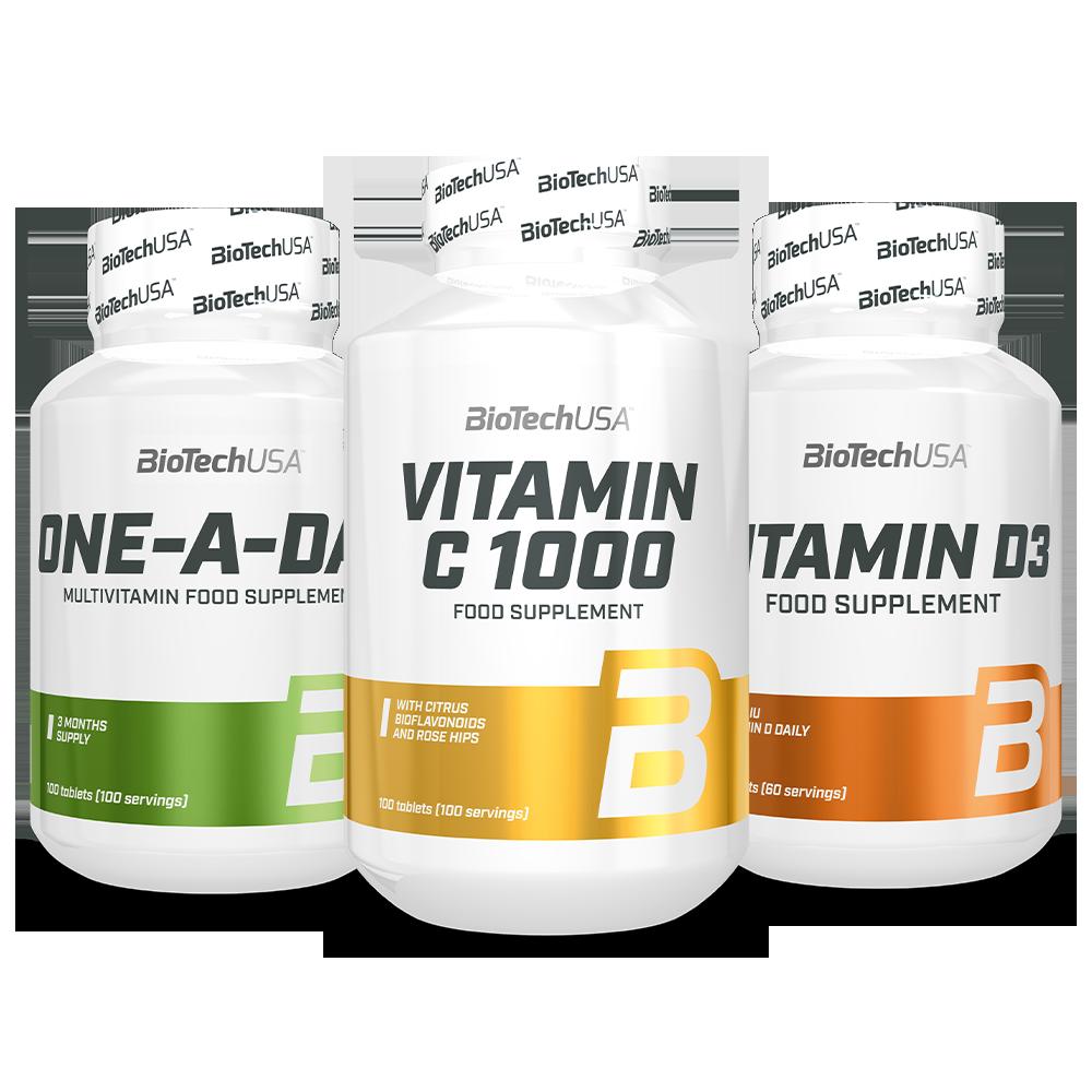 BioTech USA Biotech Téli Vitamincsomag szett