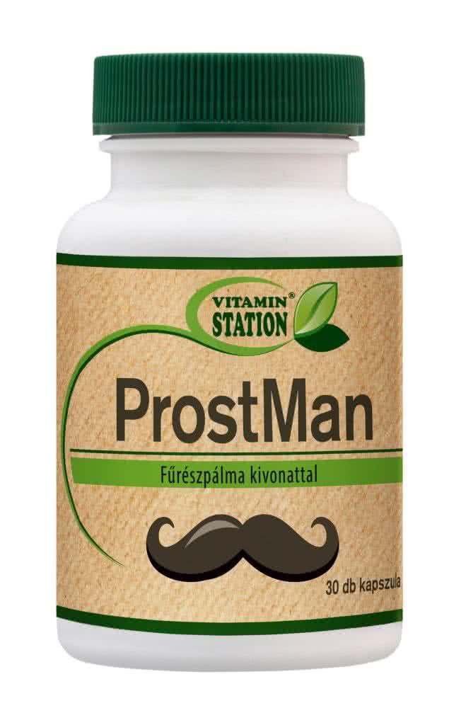 Vitamin Station ProstMan 30 kap.