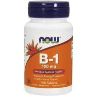 Now Foods B-1 (100mg) (100 kap.)
