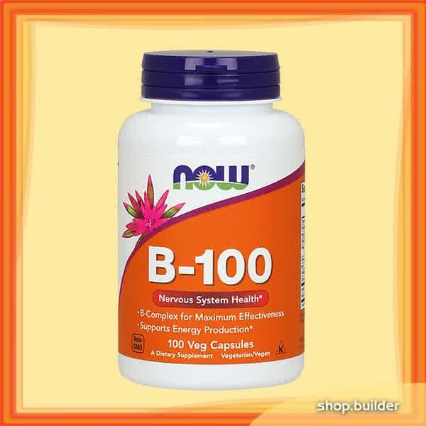 Now Foods B-100 100 kap.