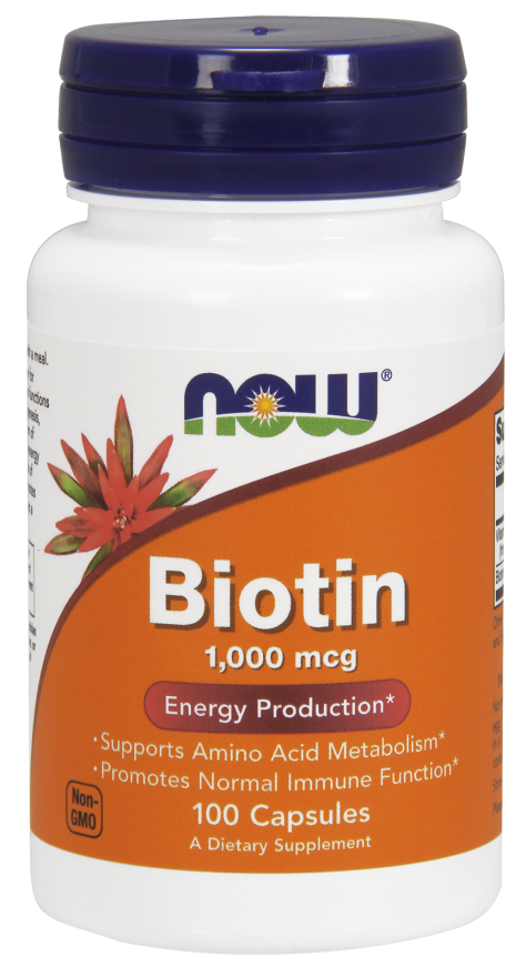 Now Foods Biotin 100 kap.