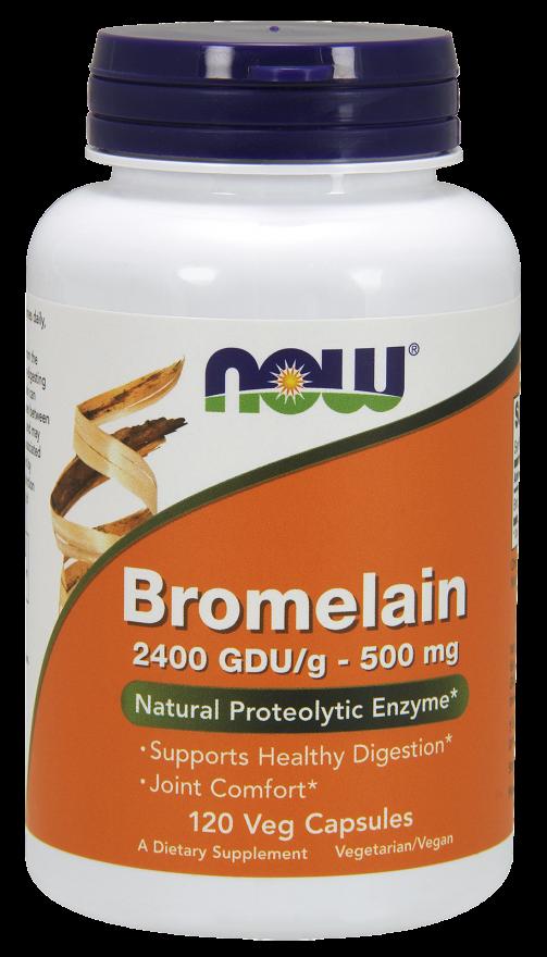 Now Foods Bromelain  120 kap.