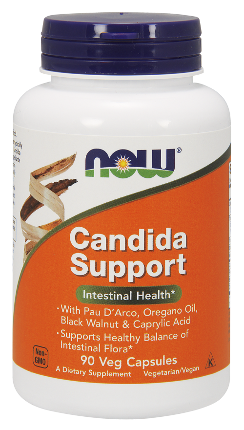 Now Foods Candida Support 90 kap.
