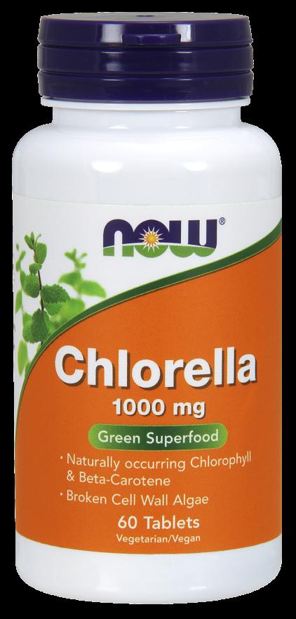 Now Foods Chlorella  60 tab.
