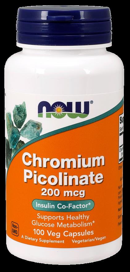 Now Foods Chromium Picolinate 100 kap.