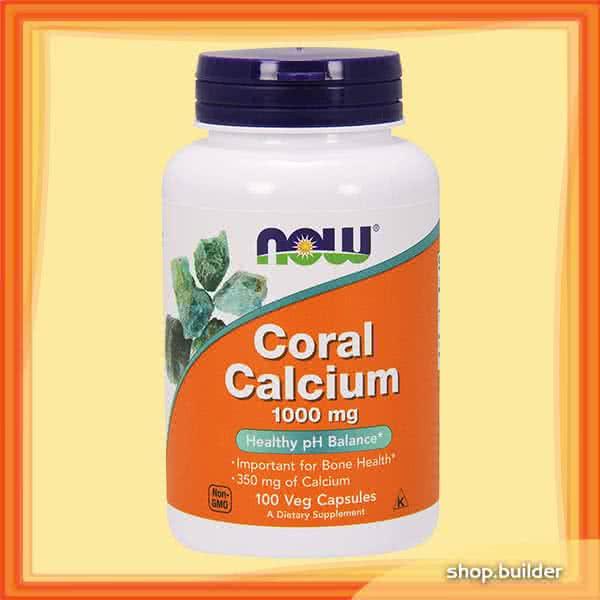 Now Foods Coral Calcium 100 kap.