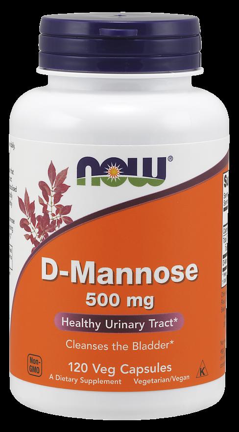 Now Foods D-Mannose 120 kap.