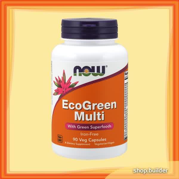 Now Foods EcoGreen Multi 90 kap.
