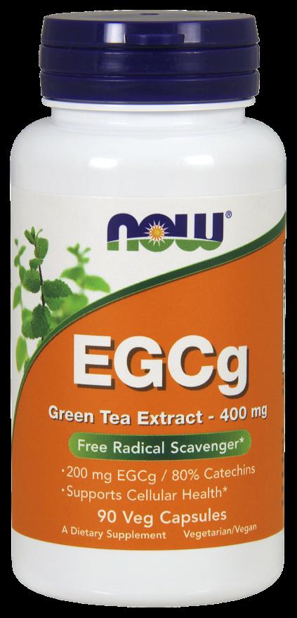Now Foods EGCg Green Tea 90 kap.