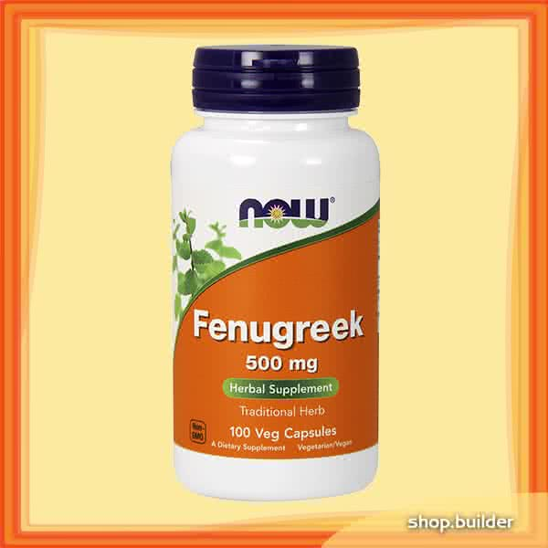 Now Foods Fenugreek 100 kap.
