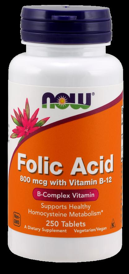 Now Foods Folic Acid 250 tab.