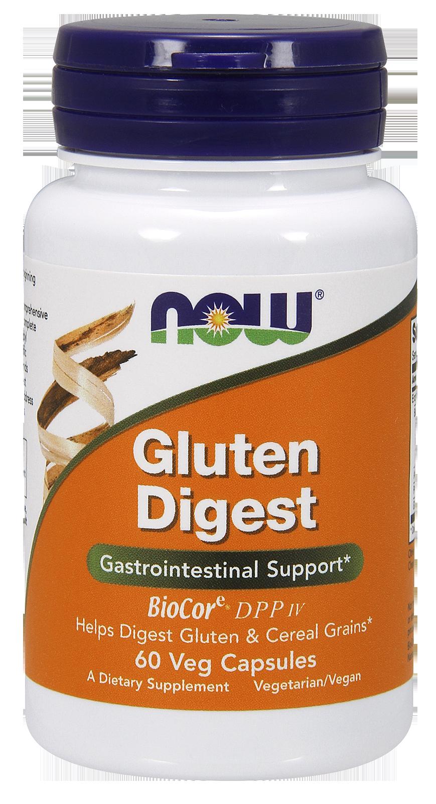 Now Foods Gluten Digest 60 kap.