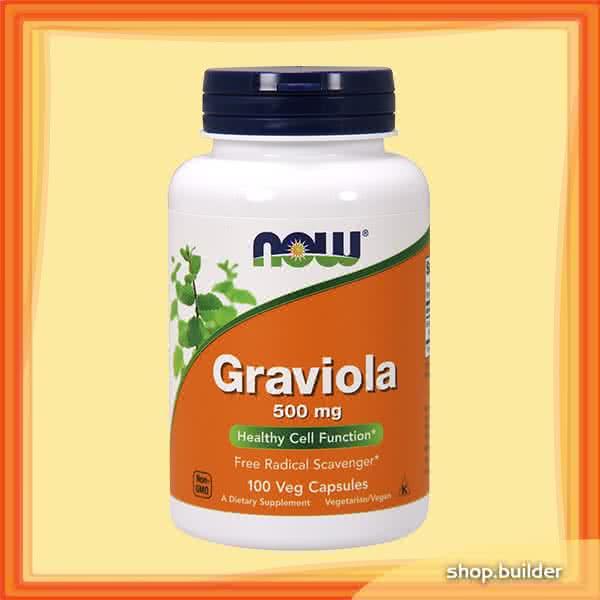 Now Foods Graviola 100 kap.