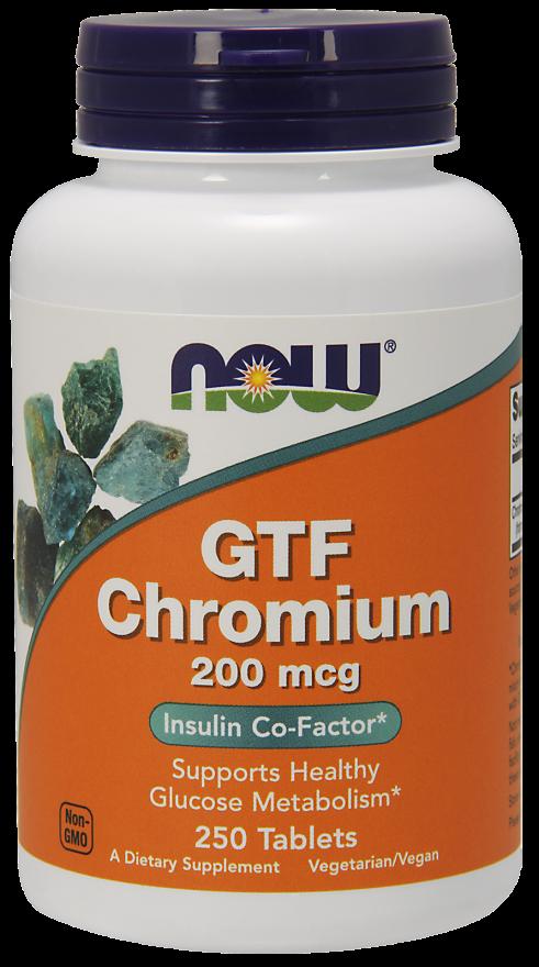 Now Foods GTF Chromium 250 tab.