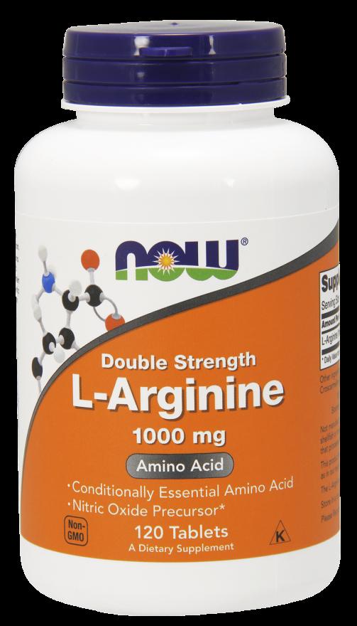 Now Foods L-Arginine 120 tab.