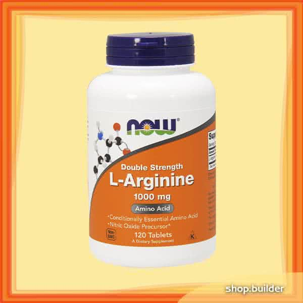 Now Foods L-Arginine 120 tab.