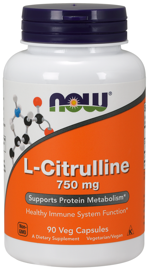 Now Foods L-Citrulline 90 kap.
