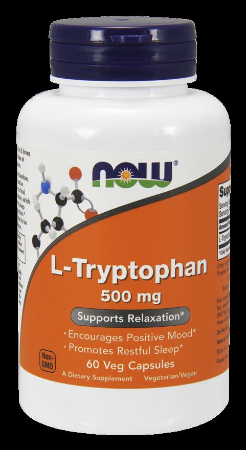 Now Foods L-Tryptophan 60 kap.