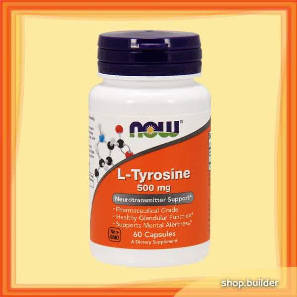 Now Foods L-Tyrosine 60 kap.