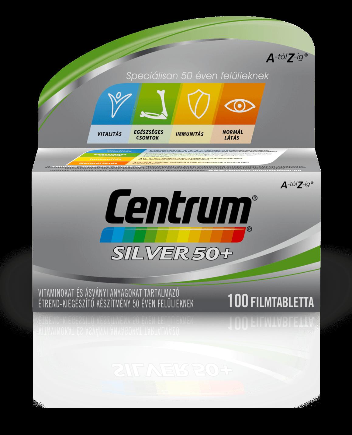 Centrum Centrum Silver 50+ A-tól Z-ig 100 tab.
