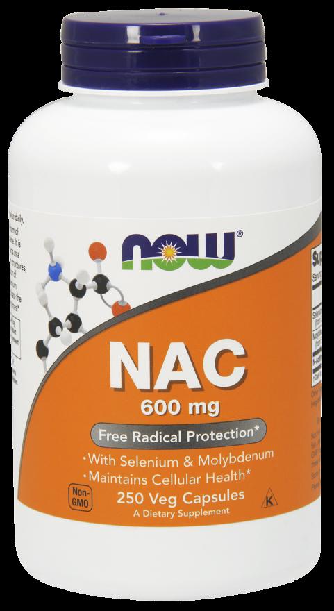 Now Foods NAC 250 kap.