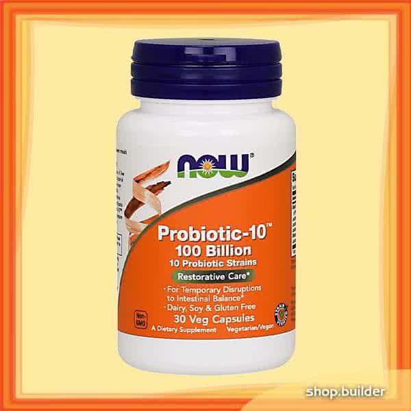 Now Foods Probiotic-10 100 Billion 30 kap.