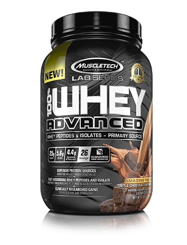 MuscleTech 100% Whey Advanced 0,908 kg