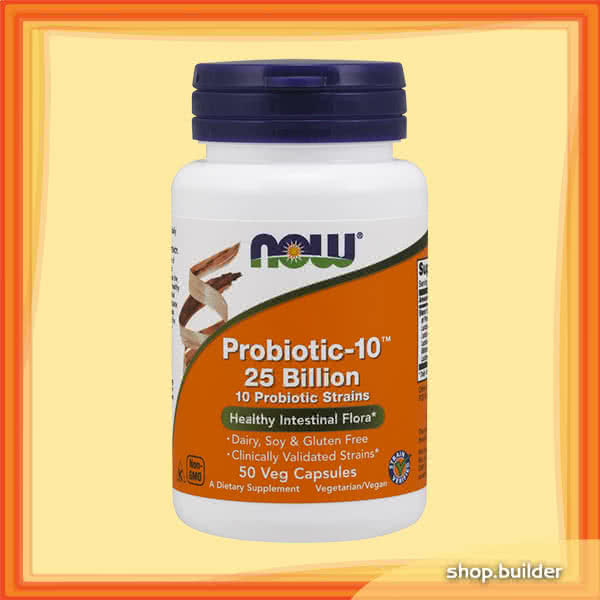 Now Foods Probiotic-10 25 Billion 50 kap.
