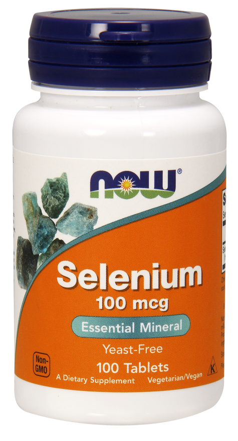 Now Foods Selenium (200mcg) 90 kap.