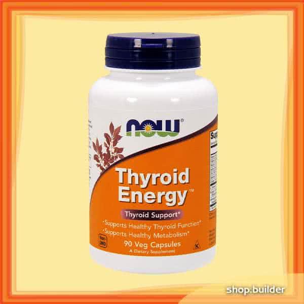 Now Foods Thyroid Energy 90 kap.