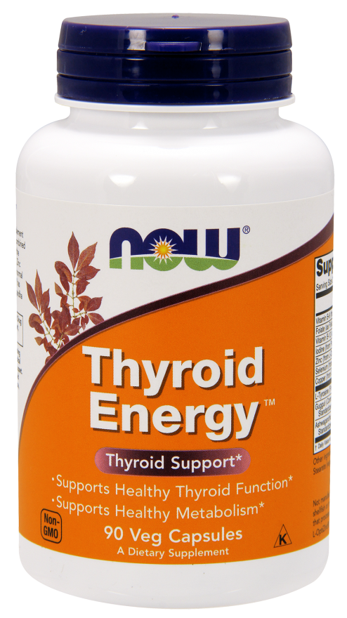 Now Foods Thyroid Energy 90 kap.