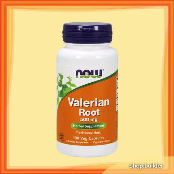 Now Foods Valerian Root 100 kap.