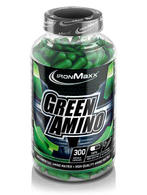 IronMaxx Green Amino 300 kap.