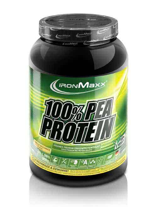 IronMaxx 100% Pea Protein 0,9 kg