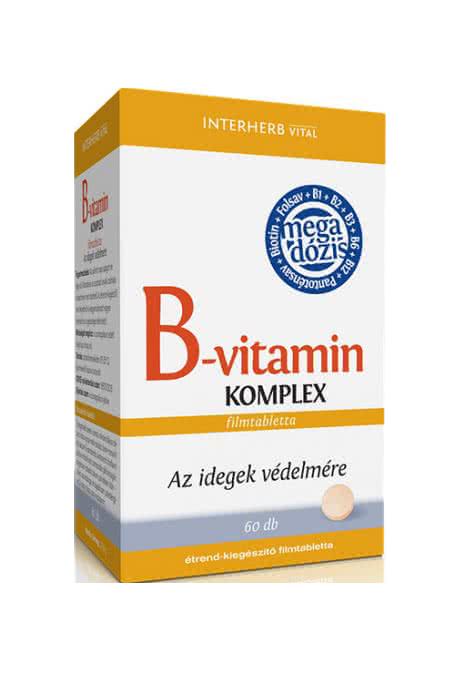 Interherb B-vitamin Komplex 60 tab.