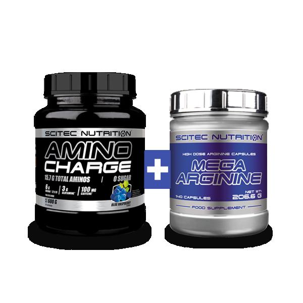 Scitec Nutrition Amino Charge + Mega Arginine szett