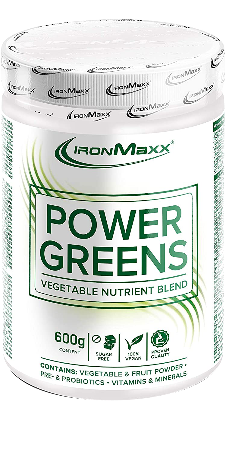 IronMaxx Power Greens 600 gr.