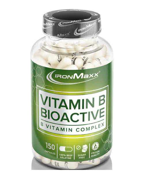 IronMaxx Vitamin B Bioactive 150 kap.