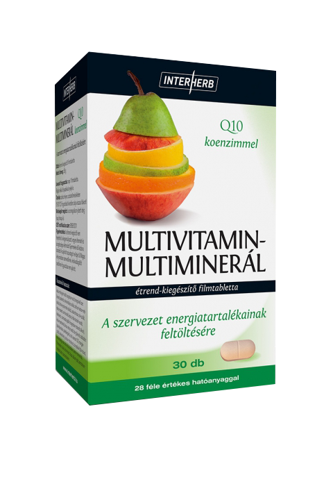 Interherb Multivitamin + Multimineral 30 tab.