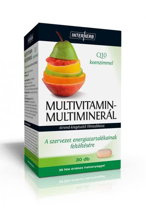 Interherb Multivitamin + Multimineral 30 tab.