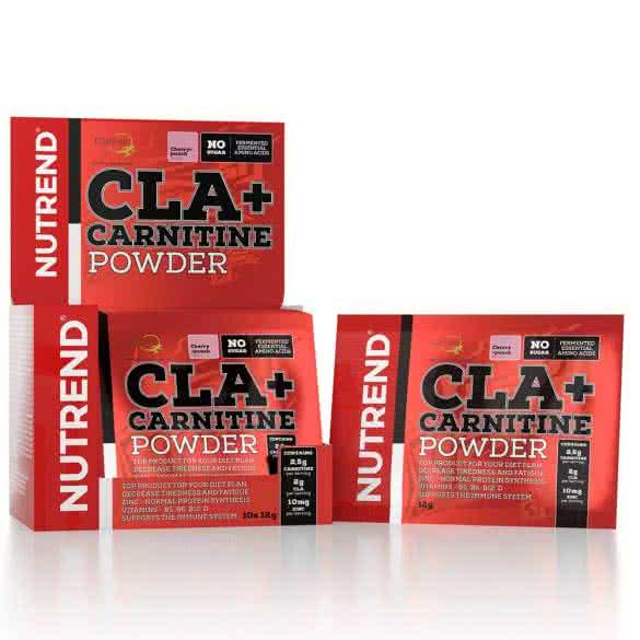 Nutrend CLA + Carnitine 12 gr.
