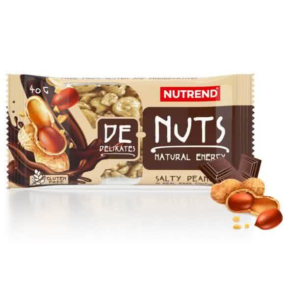 Nutrend De Nuts Szelet étcsokiban 40 gr.
