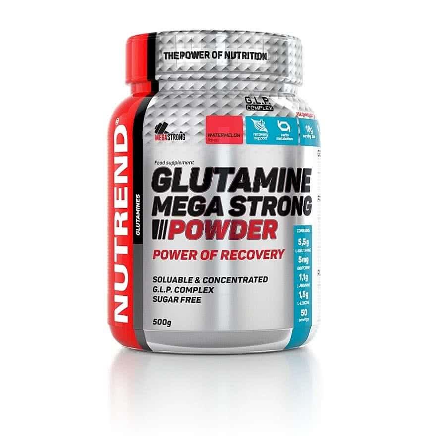 Nutrend Glutamine Mega Strong 500 gr.