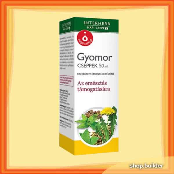 Interherb Napi gyomor cseppek 50 ml.